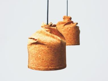 Cork pendant lamp ORGANIC | Pendant lamp