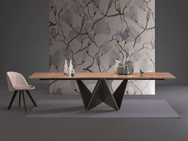 Rectangular table ORIGAMI   Rectangular table