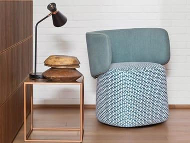 Cadeira lounge estofada ORIGIN
