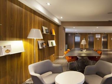 Interior fitting in HPL laminate ORIGINE