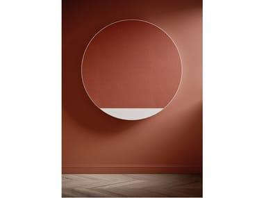 Hot-water wall-mounted aluminium decorative radiator ORIMONO