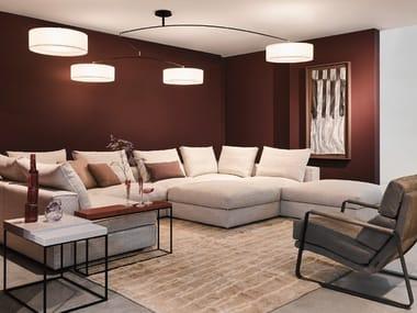 LED steel ceiling lamp ORION | Ceiling lamp