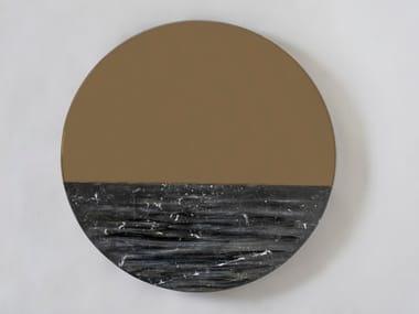 Round wall-mounted mirror ORIZON BLACKSEA