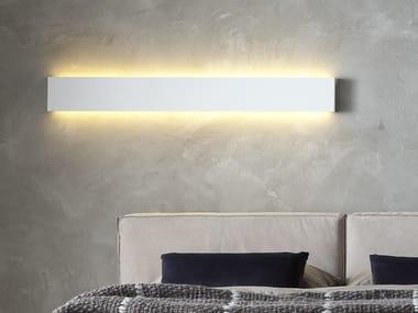 Direct light wall lamp ORIZZONTE
