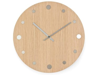 Wall-mounted solid wood clock ORLOI