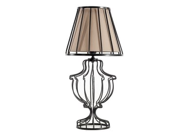 Contemporary style direct light metal table lamp ORNA