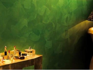 Pittura perlescente composta da scaglie di madreperla oro ORO