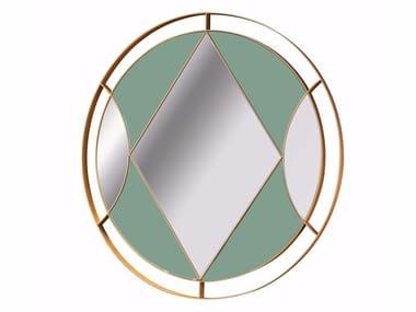 Round wall-mounted mirror OSANGE