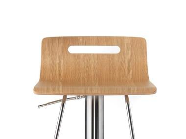 Multi-layer wood seating seat OSLO