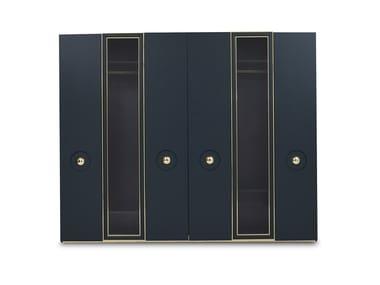 Lacquered wardrobe with drawers OTTAVIA | Wardrobe