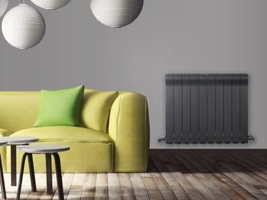 Wall-mounted die cast aluminium decorative radiator OTTIMO