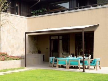 Terrassenüberdachung aus Eisen OTTOMEZZO | Terrassenüberdachung