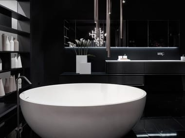 Freestanding oval Solid Surface bathtub OVAL