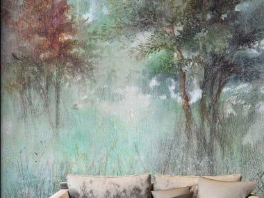 Papel de parede ecológico de tecido não tecido OVIDIO