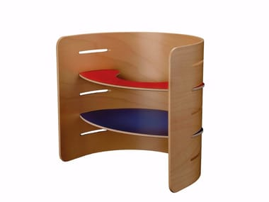 Plywood kids chair with armrests CHILD'S CHAIR