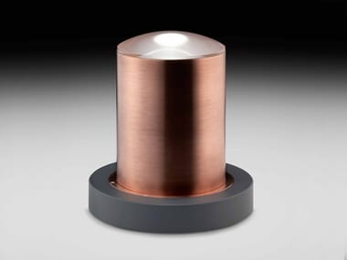 LED Anodized aluminium bollard light OAK