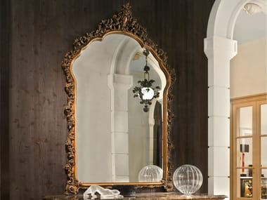 Wall-mounted framed mirror P 4029 | Mirror