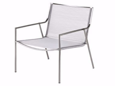 Garden easy chair with armrests P01 | Easy chair