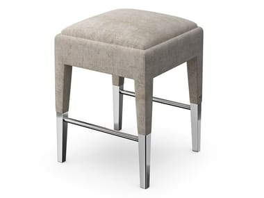 Fabric barstool with footrest P08
