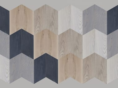 Prefinished brushed oak parquet P1/P2 Spina