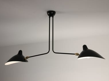 Direct light adjustable metal ceiling lamp P2B | Ceiling lamp