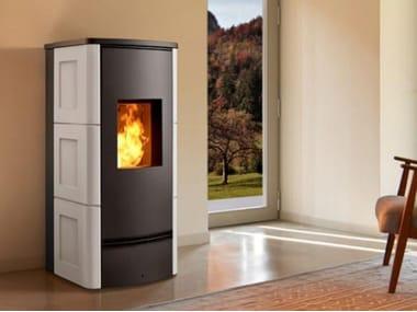 Pellet steel stove Class A+ P920 C | Pellet stove