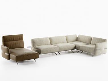 Canapé d'angle composable avec méridienne PABLO | Canapé composable