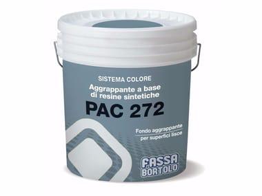 Aggrappante a base di resine sintetiche per intonaci PAC 272