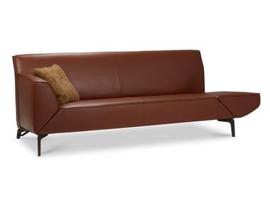 Leather sofa PACIFIC PURE | Leather sofa