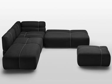 Modular sofa with removable cover PACKAGE | Modular sofa