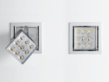 LED ajustável de alumínio para teto PAD 80