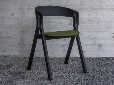 Chair with integrated cushion 20.20_PAD