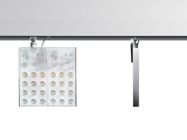 Illuminazione a binario a LED in alluminio estruso PAD SQUARE