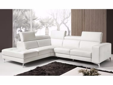Recliner Sectional Sofa With Headrest PADO | Sectional Sofa