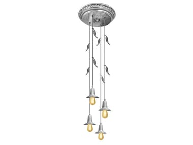 Brass ceiling lamp PALERMO I GLASS & EDISON | Ceiling lamp