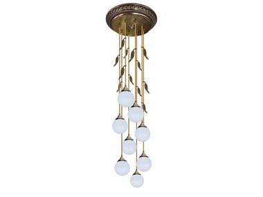 Lampada da soffitto in ottone PALERMO II | Lampada da soffitto