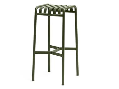 Steel barstool PALISSADE | Barstool