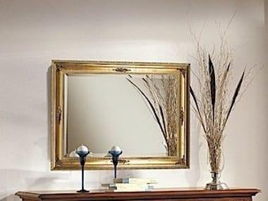 Wall-mounted framed mirror PALLADIO | Mirror