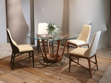 Crystal dining table PALLANTE