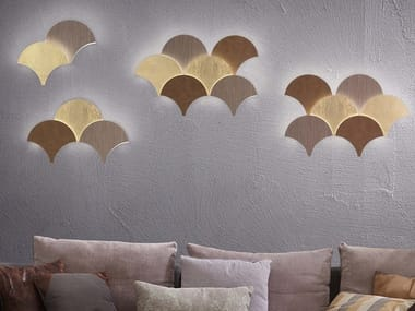 Arandela LED de metal com pintura PALM A21