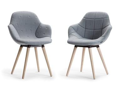 Fabric chair PALMA MEETING   Chair