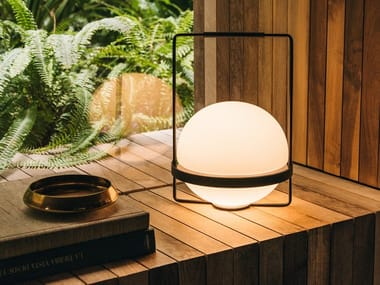 LED blown glass table lamp PALMA | Table lamp