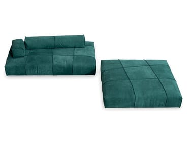 Sectional modular leather sofa PANAMA BOLD | Sofa