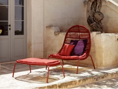 Rope garden armchair PANAMA   Garden armchair