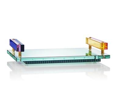 Rectangular crystal tray PANAMA TRAY