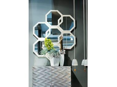 Silver leaf mirror PANDORA | Mirror