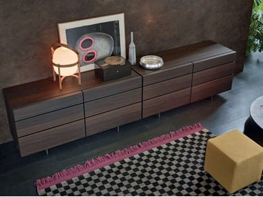 Oak chest of drawers PANDORA NIGHT