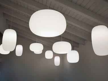 Lampada a sospensione per esterno in Poleasy® PANDORA LIGHT | Lampada a sospensione per esterno