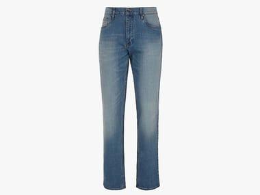 Pantalone jeans da lavoro PANT. STONE 5 PKT BLEACH WASHING