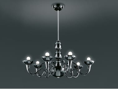 Steel chandelier PANTALICA | Pendant lamp